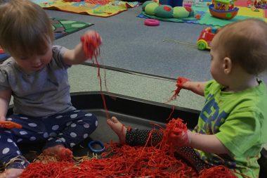The Spinney Nursery Messy Play