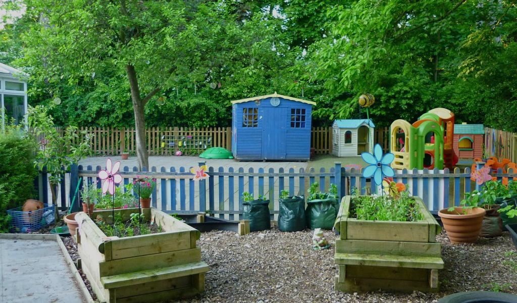 The Spinney Day Nursery Hoole garden